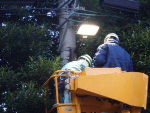 環境配慮型街路灯(LED)整備工事